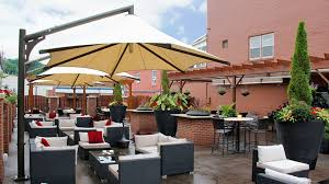 Cantilever Awnings Shade Structures Sun Shade Sails And Outdoor Umbrellas