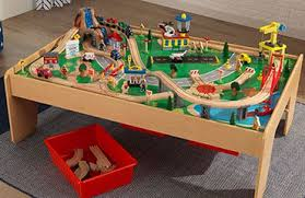 thomas the train wooden track table train tables train sets kidkraft