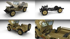 desert military jeep full w chassis jeep willys mb military desert by dragosburian