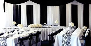 black and white wedding decorations stunning black and white wedding decoration ideas photos