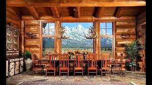 clever design ideas log home interior designs cabin blends form