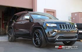 jeep cherokee accessories 22x10 lexani r12 gloss black milled on 2014 jeep grand cherokee w