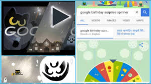 Happy Halloween Birthday Images by Google Birthday Surprise Spinner Happy Halloween Youtube
