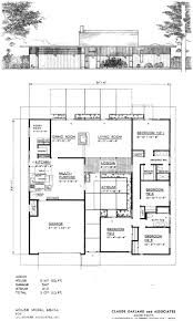 mid century modern ranch style home plans on house ho hahnow