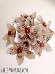 paper flower bouquet kusudama origami paper flower bouquet with buttons