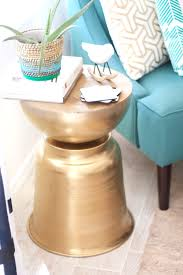 Martini Tables Diy The West Elm Martini Side Table With A Bowl Planter U2014 Kristi