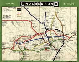 London Subway Map by Sublime Design The London Underground Map