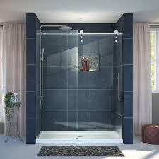 30 Shower Door Dreamline Enigma Z Fully Frameless Sliding Shower Door And