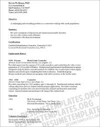 resume for camp counselor at ymca resume camp counselor job