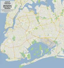 Downtown Manhattan Map Mapping The Never Built Highways Of Nyc From Robert Moses And