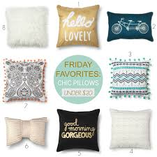 tracy s notebook of style friday favorites chic pillows