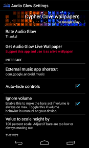 audio glow music visualizer settings 1 androidtapp