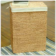 Wicker Clothes Hamper With Lid Bathroom Cozy Berber Carpet With Interesting Wicker Laundry Hamper