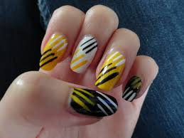 yellow nails art image collections nail art designs