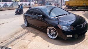 mobil honda sport mobil honda civic use velg rpf01 ring 18 dan ban toyo proxes t1 sport