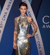 ruby rose gets knuckle tattoos removed young hollywood