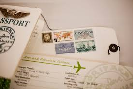 3d Invitation Cards Plane Ticket Invitations Passport Programs And Luggage Tag
