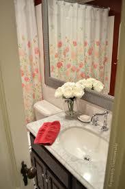 springtime shower curtain swap exquisitely unremarkable