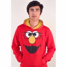 buy printed elmo hoodie in red online in pakistan buyon pk