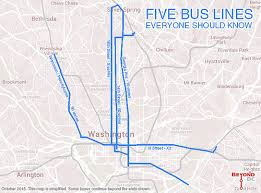 washington dc metrobus map five lines everyone in dc should and use greater