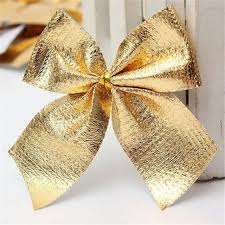 30pcs tree bow decoration baubles new year