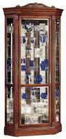 curio cabinet ohio amish made curiobinetsohiobinets cornerbinet