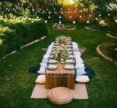best 25 outdoor dinner ideas on dinner