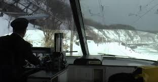 cab view winter rides otaru niseko sanctuary niseko