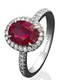 painite engagement ring ruby ribbon ring coloured gemstones ring