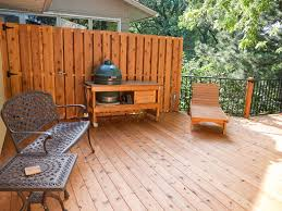 deck privacy wall decks walls construction kitchener