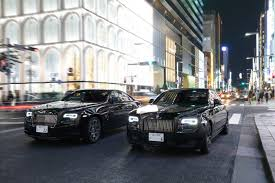 rolls royce chrome blade runners the rolls royce ghost and wraith black badge in