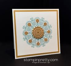 artwork inspired moroccan nights stampin pretty 07 11 moroccan medallion