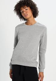 vero moda vmaida original sweatshirt light grey melange