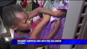 Walmart Halloween Costumes Toddler Walmart Surprises Local Kids Free Halloween Costumes Fox40