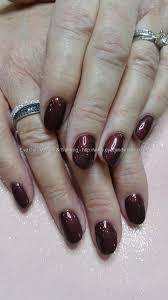 eye candy nails u0026 training gel polish on acrylic nails by elaine