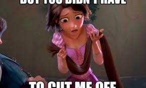 Disney Girl Meme - tangled memes funny jokes about disney animated movie
