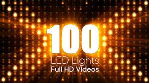 100 led lights advanced custom controls hd loops