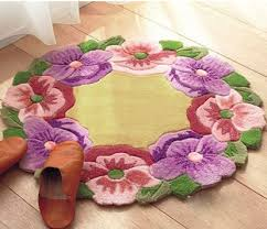Free Shipping Flowers Aliexpress Com Buy Diy Mat Needlework Kit Unfinished Crocheting