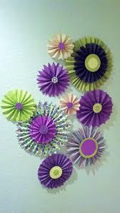dorm decor ideas paper flowers