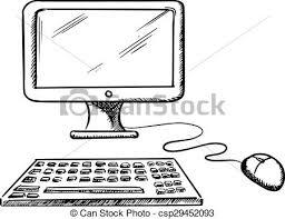 souris bureau ordinateur clavier souris bureau moniteur informatique