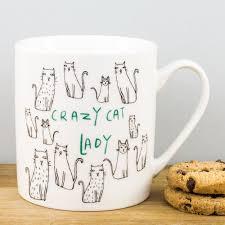 creative mugs everyday home crazy cat lady cartoon kitties china mug by creative