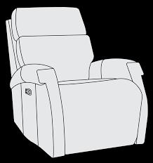 Maddux Reclining Sofa Power Motion Chair Bernhardt