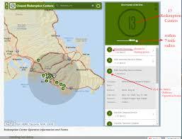 Zip Code Radius Map by Deposit Beverage Container Program Find A Redemption Center