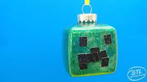easy diy minecraft ornaments