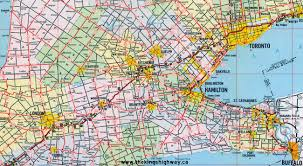 ontario highway 8 route map the king s highways of ontario