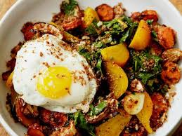 Recipe For Roasted Root Vegetables - roasted root vegetables with eggs recipe food network
