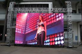 p12 color led display screen smd5050 3in1 products eraled