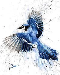 Bird Flying Tatoo Aqua Color Bird Flying Segerios Com Segerios Com