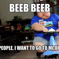Fat Chinese Kid Meme - fat kid wants to go to mcdonalds by recyclebin meme center