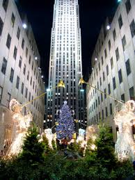 new york city u0027s rockefeller center christmas tree lighting jazz